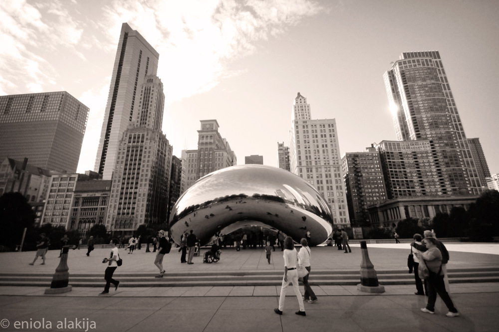 photoblog image cloudgate chicago