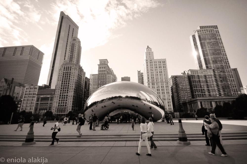 photoblog image cloudgate chicago
